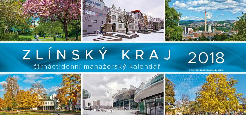 Tischkalender 14 Tage Zlínský kraj 2018